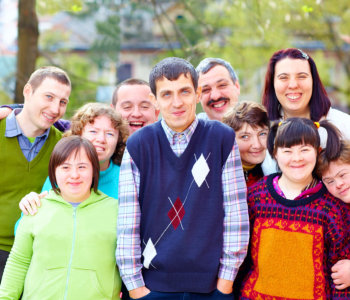group of people with disablity